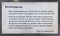 Gedenktafel Robert-Rössle-Str 22 (Buch) Brandenburger Tor&Gert Neuhaus&2004.jpg