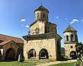 Gelati Monastery- academy, church of St. Nicholas and bell-tower.jpg