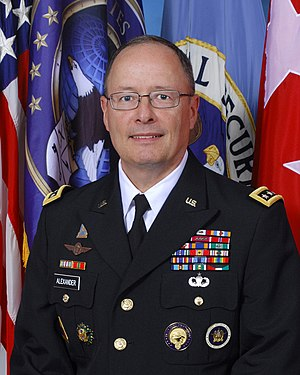 United States Cyber Command - Image: General Keith B. Alexander in service uniform
