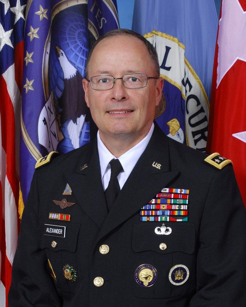 General Keith B. Alexander in service uniform
