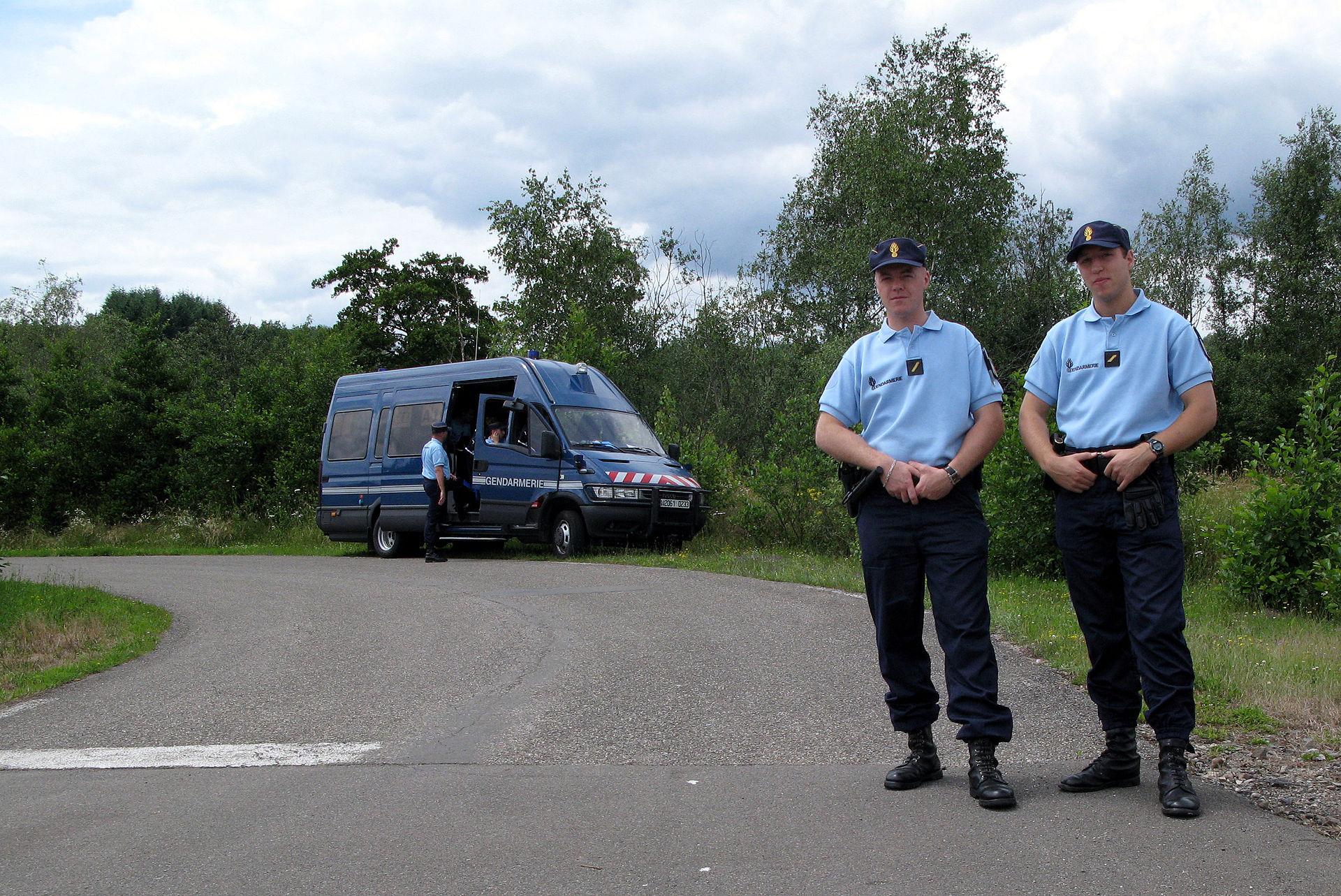 National gendarmerie wikipedia for Gendarmerie interieur