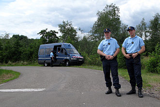 National Gendarmerie - Gendarmes on patrol