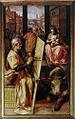 Gent, Sint-Baafskathedraal St Lucas schildert OLVrouw F Floris B STB 166.jpg