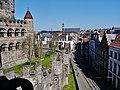Gent Blick von der Burg Gravensteen 6.jpg