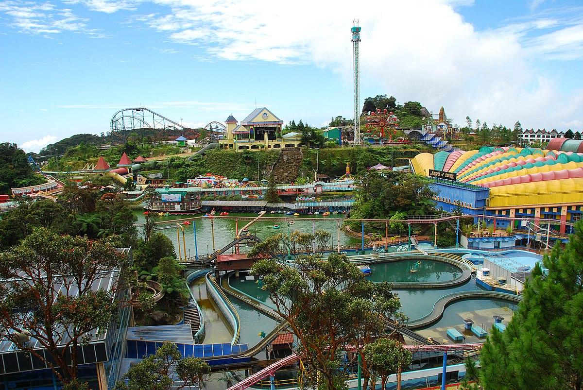 Genting highlands wikipedia for Hotels world