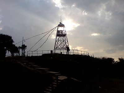 Geodetic Survey Tower Nagarkot Nepal1.jpg