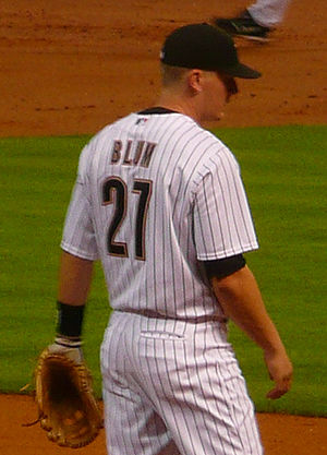 Geoff Blum - Blum with the Houston Astros