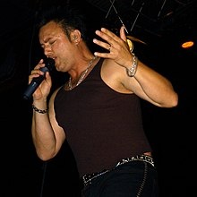 Geoff Tate in Germany, Tribe Tour 2004.