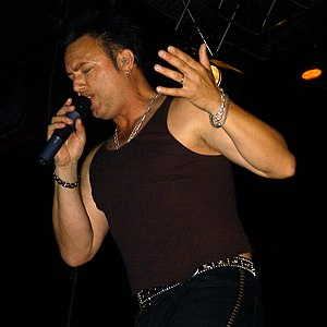 Geoff Tate - Geoff Tate in Germany, Tribe Tour 2004.