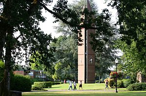 Christian college - George Fox University, a Christian college in Oregon