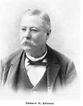 Idaho (sidewheeler) - George H. Knaggs, an early purser of the Idaho