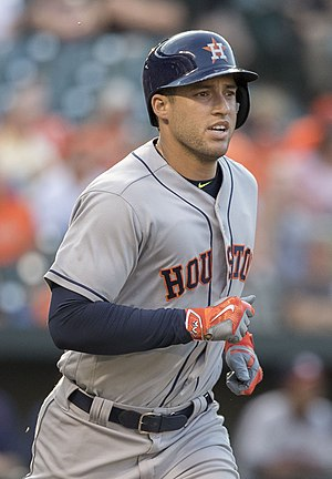 World Series Most Valuable Player Award - George Springer, 2017 World Series MVP