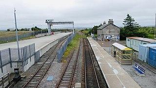 Georgemas Junction railway station Railway station in Highland, Scotland