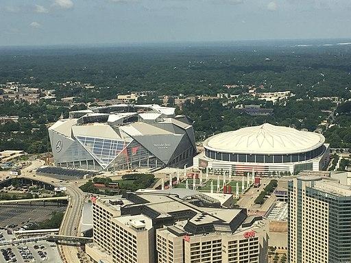 Georgia Dome 2017