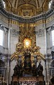 Gialorenzo bernini, cattedra di san pietro, 1656-65, 01.jpg