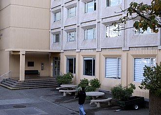 Residence halls at the University of San Francisco - Image: Gillsonout