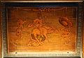 Giovan Francesco Capoferri su dis. di lorenzo lotto, coperta con nudo a cavallo di un asito tra maschera vuota e maschera strabica, 1527-31, 01.JPG
