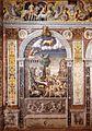 Giovanni Maria Falconetto, Mantua, Palazzo d'Arco, Sala dello Zodiaco, Sign of Taurus.jpg