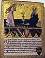 Giovanni di paolo, biccherna con annunciazione, 1445.JPG