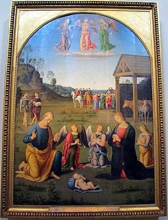 Lo Spagna - Image: Giovanni lo spagna, adorazione dei magi