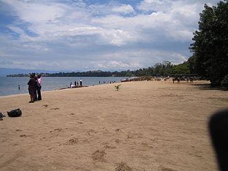 Gisenyi - Lake Kivu beach at Gisenyi