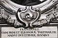 Giuseppe maria bianchini, Dei Granduchi di Toscana della real Casa De' Medici, per gio. battista recurti, venezia 1741, 11 francesco I, 2 emblema.jpg