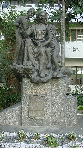 Jean-Baptiste de La Salle - Statue of Jean-Baptiste de La Salle, De La Salle University