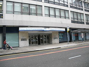 Glasgow Dental Hospital and School - Glasgow Dental Hospital and School, Sauchiehall Street