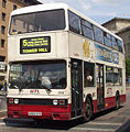 """Glenvale Transport bus 2969 """"Aaron"""" (A969 SYE), 1984 Leyland Titan B15, Liverpool Queen Square Bus Station, 31 May 2004.jpg"""