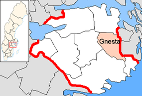 Gnesta Municipality in Södermanland County.png