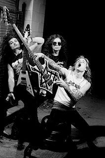 Goat Horn band that plays thrash metal