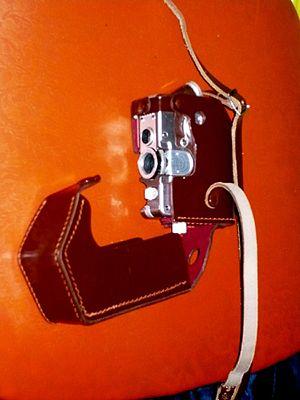 Goerz Minicord - Goerz minicord with deluxe  leather case