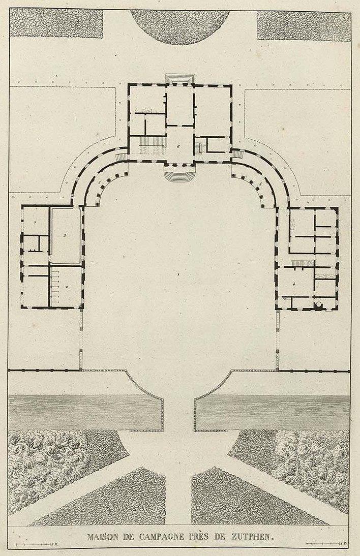 File:Goetghebuer - 1827 - Choix Des Monuments - 083 Plan Maison