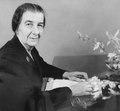 Golda Meir, Ministra de Relações Exteriores de Israel.tif