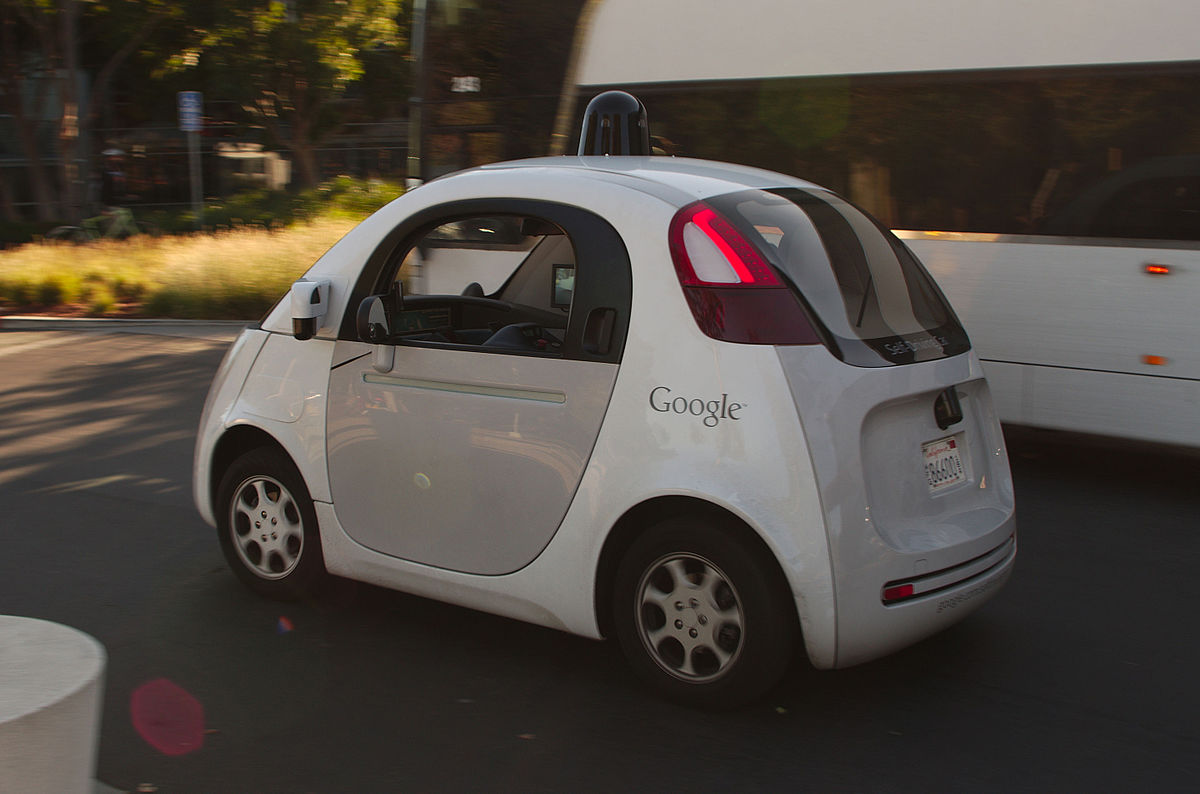 Voiture Sans Conducteur De Google Wikip 233 Dia