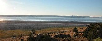 Goose Lake (Oregon–California) - Image: Goose Lake