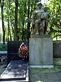 Gorokhiv Volynska-Memorial complex Hill of glory-monument soldier&boy.jpg