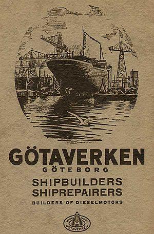 Götaverken - Gotaverken ad 1934