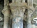 Gournay-en-Bray (76), collégiale St-Hildevert, collatéral nord du chœur, chapiteaux du 1er doubleau côté nord.jpg