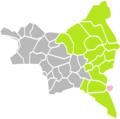 Gournay-sur-Marne (Seine-Saint-Denis) dans son Arrondissement.png