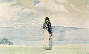 Governor's Wife by Winslow Homer 1885