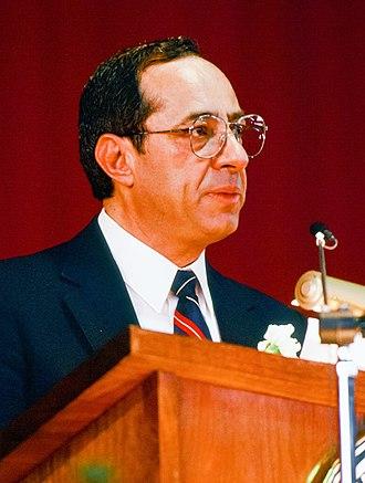 Mario Cuomo - Cuomo speaking at Cornell University in 1987