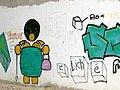Graffiti where Lune cycleway passes under M6 - geograph.org.uk - 35062.jpg