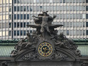 Jules Coutan - Glory of Commerce, Grand Central Terminal, 1911-14
