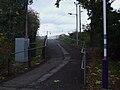 Grange Park stn access to northbound platform.JPG