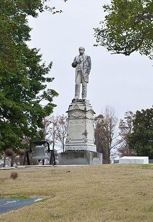 James L. Alcorn - Alcorn's grave in Coahoma County, Mississippi