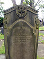 Gravestone at All Hallows Church, Bispham.jpg