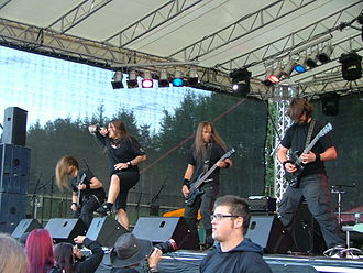 Graveworm - Graveworm performing at Rock the Lake in 2007
