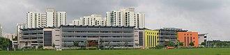 Punggol - Image: Greendale Secondary School 2, Jan 06
