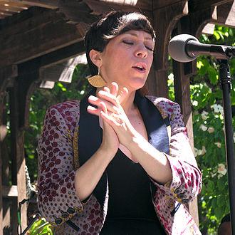 Gretchen Parlato - Jazz at Filoli, Woodside, California, March 2015
